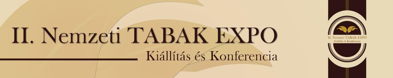 I. Nemzeti TABAK EXPO