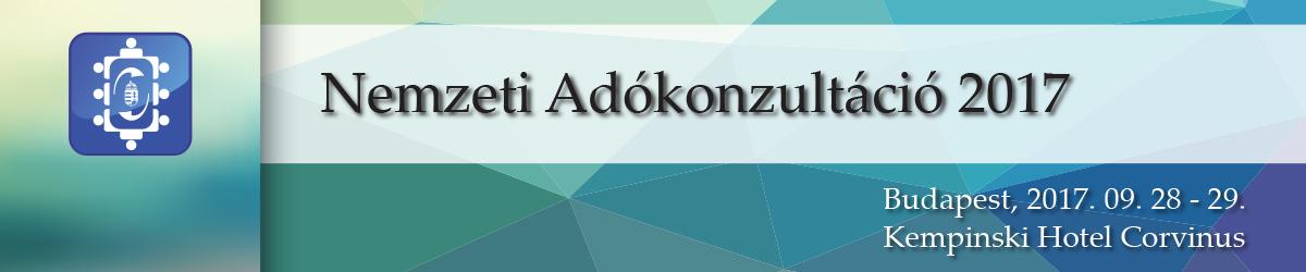 Nemzeti Adókonzultáció 2017